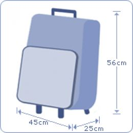 Handbagage afmeting