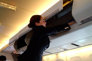 Handbagage vliegtuig