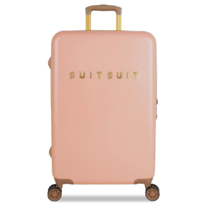 SUITSUIT koffer Seventies roze