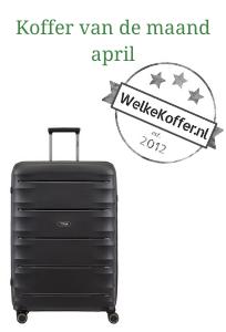 Koffer van de maand april