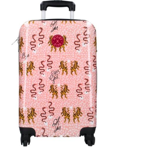 Roze koffer Milky Kiss En Route